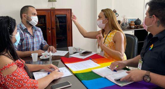 Coordenadoria de Diversidade de Macapá, Sete e Sine Amapá discutem alternativas para geração de emprego à população LGBTQIA+