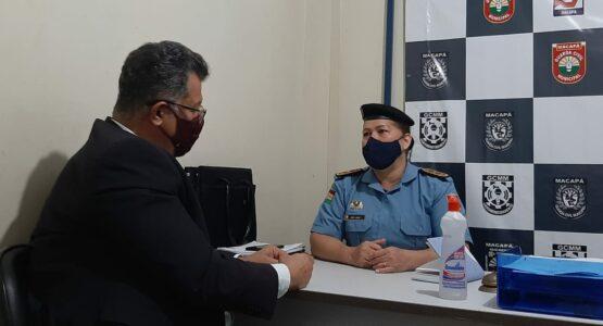 CTMac  e Guarda Municipal renovam convênio de cooperação técnica para atividades em Macapá