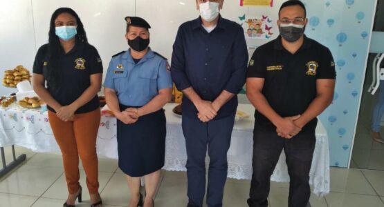 Guarda Municipal de Macapá e Conselho Tutelar da Zona Oeste renovam parceria para ações de proteção à criança e ao adolescente